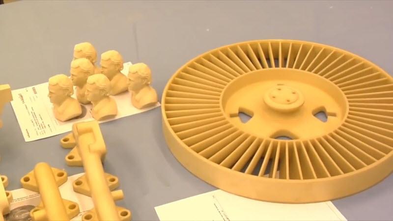 蜡型(PS/聚苯乙烯)3D打印插图