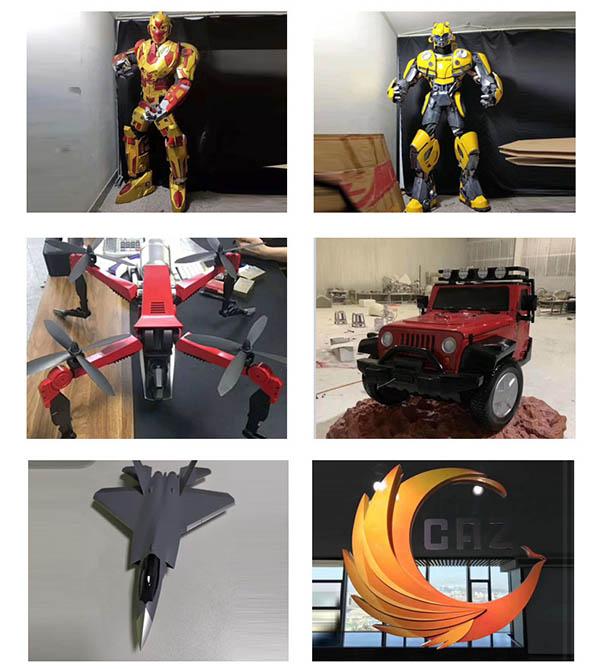 3D打印玩具动漫手办插图1